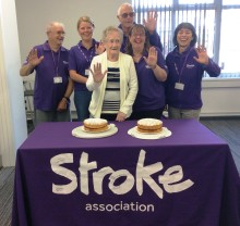 Grimsby stroke survivor invites people to Give a Hand and Bake for the Stroke Association