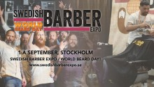 Swedish Barber Expo / World Beard Day 2018