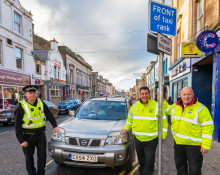 Taxi marshals prepare for 'mad Friday'