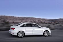 Nya Audi A3 Sedan - med sportig design i nytt segment