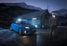 Nå blir Evalds supertaxi Focus RS kjent over hele verden