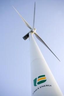 Umeå Energi tar hem vindenergin  till Umeåregionen