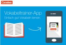 """Smartphones werden zum Vokabeltrainer: """"Cornelsen Vokabeltrainer""""-App passend zu fünf Schulbuch-Reihen erschienen"""