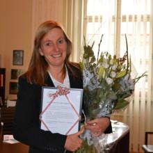 Årets BRA-pris till länspolismästare Carin Götblad