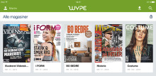 Premiär för Wype: Ny magasin-app från danska Bonnier Publications