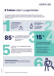 Factsheet: 6 Fakten über Lungenkrebs