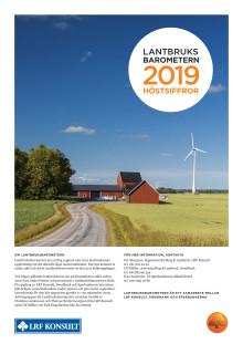 Lantbruksbarometern - hösten 2019