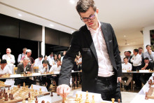 A unique chess event