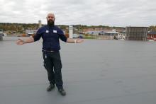 Eneo levererar en av Värmlands största takbaserade solcellsanläggningar för Konsum Värmland