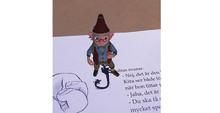 App ger liv åt karaktärer i ny barnboksserie