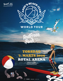 ANDERSON .PAAK & THE FREE NATIONALS:  'ANDY'S BEACH CLUB WORLD TOUR' KOMMER TIL ROYAL ARENA!
