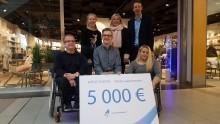 JYSKin kampanja keräsi hyvän potin nuorten paralympiaryhmälle