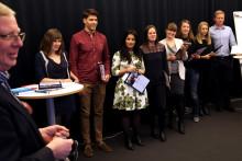 Diplomering efter ett intensivt år inom Open Innovation Training Programme