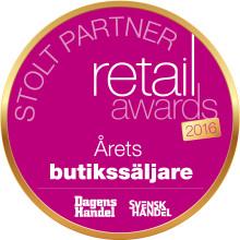 Resurs Bank i juryn för Retail Awards 2016