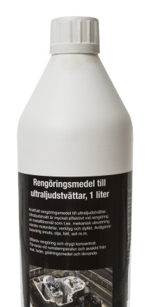 Effektivt rengöringsmedel till ultraljudstvätt - hos Verktygsboden