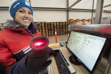 WAMAS® software från SSI Schäfer styr även i arktiska temperaturer