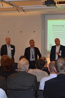 Partneringseminarium invigde Sh's nya Väsbykontor