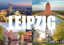 Postkartengrüße aus Leipzig in die ganze Welt mit Spenden für den guten Zweck