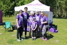 Survivors take a Step Out for Stroke in Sandringham