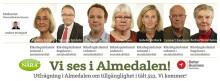 Utfrågning i Almedalen. Politikerna klara.