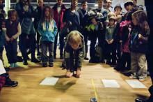 Fyra världsrekord slogs på Barnens dag på Kulturhuset