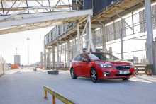 Uusi Subaru Impreza - tasapainoinen ajomukavuus  ja huipputurvallisuus vakiona