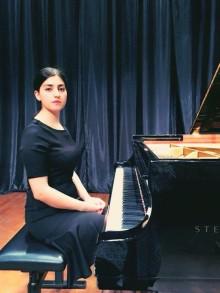 SWEA delar ut stipendium på USD 10.000 (ca SEK 85.000) till pianisten Lana Anikina Suran