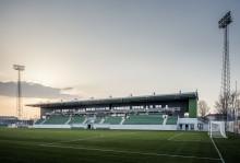 Premiär för nya Kristianstad fotbollsarena