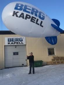 Berg Kapell  siktar på högt reklambudskap