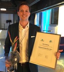 Viktor Kjellberg utsedd till en av Sveriges 12 mest innovativa entreprenörer
