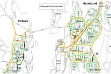 Planerade åtgärder Holmsund 2016