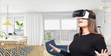 Rundvandring med Virtual Reality i Slottsberget 3 i Västra Frölunda