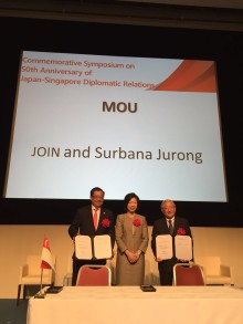 Surbana Jurong & Japan Overseas Infrastructure Investment Corporation for Transport & Urban Development (JOIN) to cooperate in overseas urban & infrastructure projects