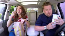 CBS Partners With McDonald's and Coca-Cola for First Carpool Karaoke Integration Selena Gomez segment kicks off summer sweepstakes