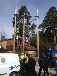 Övningsanläggning på Magnus Åbergsgymnasiet i Trollhättan invigd