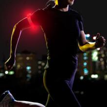 Sportarmband med LED - Bli sedd i vintermörkret
