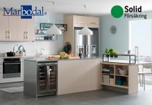 Nobia Svenska Kök ger Solid Försäkring förtroende att försäkra vitvarorna i Marbodal-kök