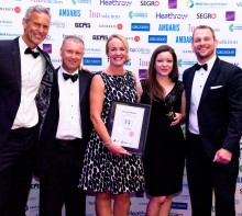 "Isansys Wireless Patient Monitoring Technology Wins Business Award For Making a ""Real Difference to People's Lives"""