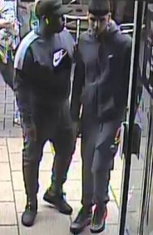 CCTV released as part of investigation into suspected theft
