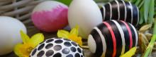 Pääsiäispöydän herkut syntyvät uusilla kananmunatuotteilla