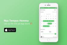 Tempus Hemma (ny version) för iOS ute nu!