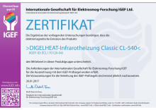IGEF-Zertifikat