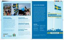 Programfolder Nationaldagen 2013