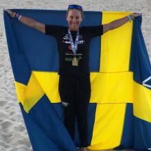 Emma Igelström och Vitamin Well till Karlstad Triathlon