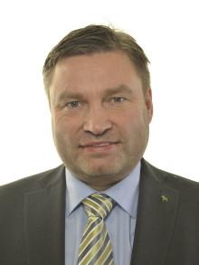 Premiär för nya C-ledamoten Peter Helander
