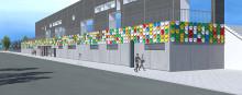 LOOK AT YOU skapar färgstark identitet till Kristianstads arenaområde