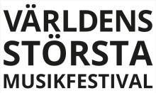 Världens största musikfest på Pustervik