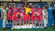 """  Landslagsuttak til """"ungdommens Tour de France"""""""