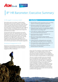 8th European HR Barometer key findings