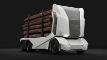 Svenska Einride lanserar idag självkörande, batteridriven timmerbil, kom och se den på Logistik & Transportmässan 5 - 7 november!